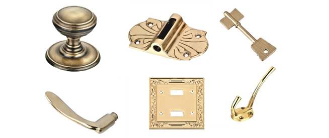 Brass Furniture parts