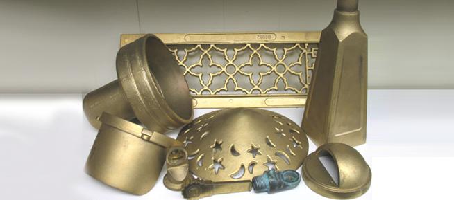 Application of brass die cast part