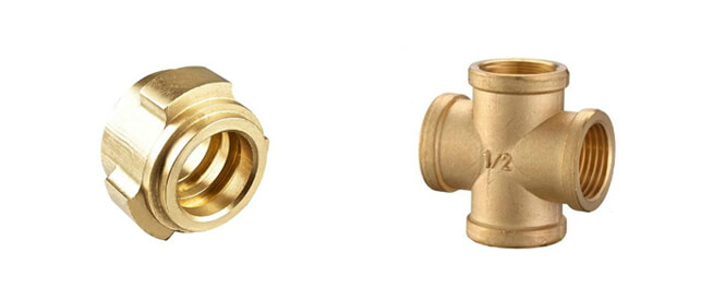 brass sand casting fittings