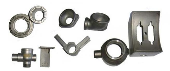 die cast steel parts