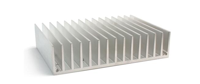 heat sinks made of zinc