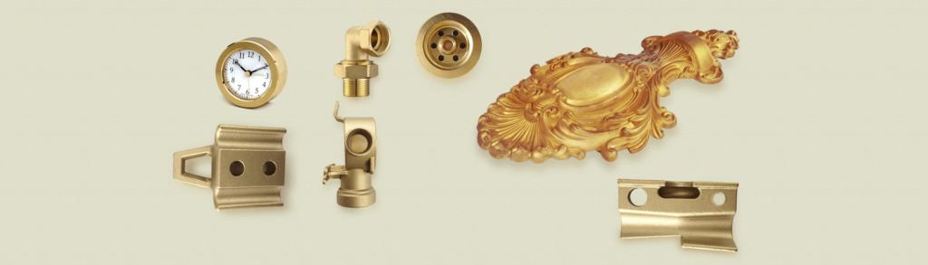 homepage banner : brass parts