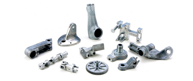 zinc cast components
